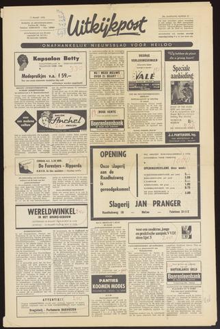 Uitkijkpost : nieuwsblad voor Heiloo e.o. 1970-03-11