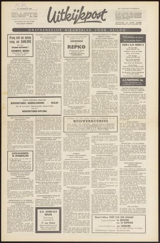 Uitkijkpost : nieuwsblad voor Heiloo e.o. 1966-08-25