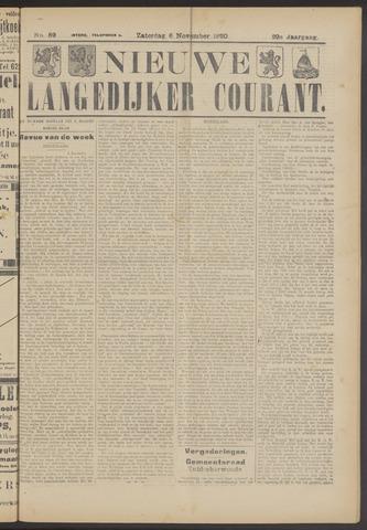 Nieuwe Langedijker Courant 1920-11-06