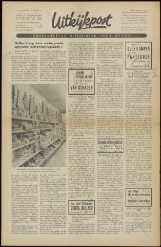 Uitkijkpost : nieuwsblad voor Heiloo e.o. 1958-11-07