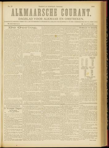 Alkmaarsche Courant 1918-01-23