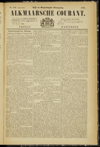 Alkmaarsche Courant 1893-12-29