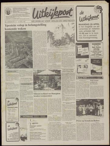 Uitkijkpost : nieuwsblad voor Heiloo e.o. 1991-04-24