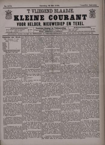 Vliegend blaadje : nieuws- en advertentiebode voor Den Helder 1884-05-10