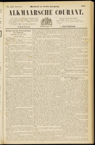 Alkmaarsche Courant 1899-09-01