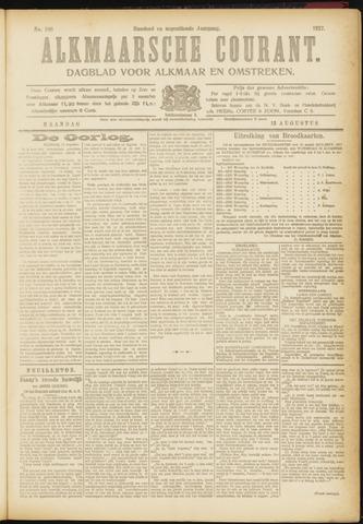 Alkmaarsche Courant 1917-08-13