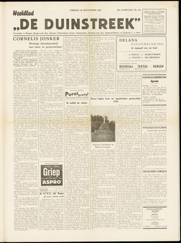 De Duinstreek 1962-09-28