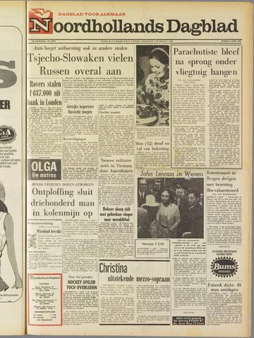 Noordhollands Dagblad : dagblad voor Alkmaar en omgeving 1969-04-01