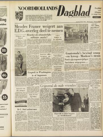 Noordhollands Dagblad : dagblad voor Alkmaar en omgeving 1954-06-26