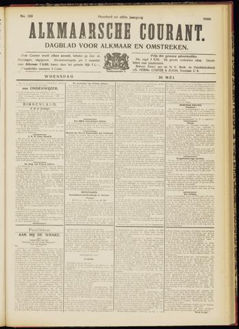 Alkmaarsche Courant 1909-05-26