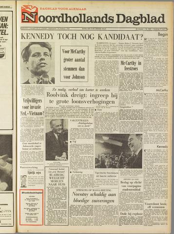 Noordhollands Dagblad : dagblad voor Alkmaar en omgeving 1968-03-14