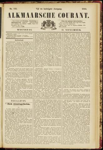 Alkmaarsche Courant 1883-11-14