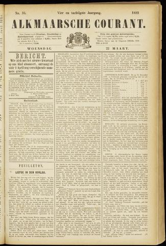 Alkmaarsche Courant 1882-03-22