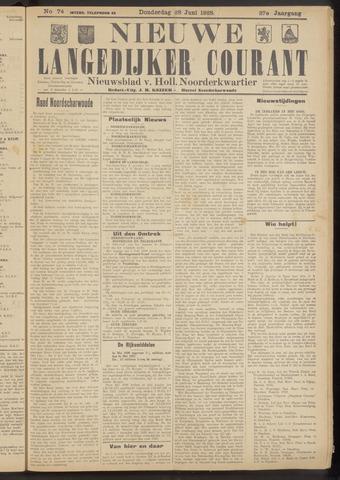 Nieuwe Langedijker Courant 1928-06-28