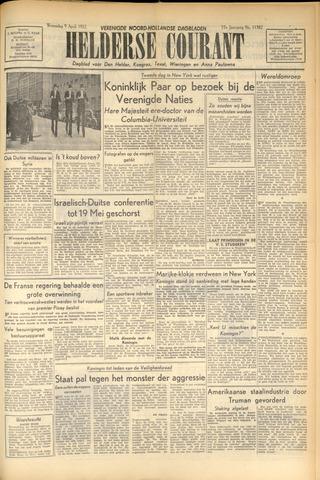 Heldersche Courant 1952-04-09