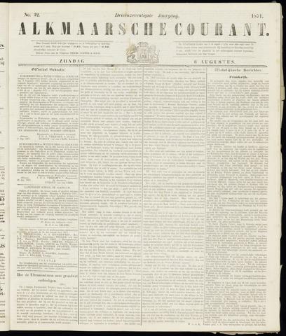 Alkmaarsche Courant 1871-08-06