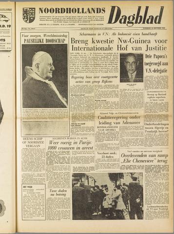 Noordhollands Dagblad : dagblad voor Alkmaar en omgeving 1961-10-21