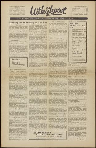 Uitkijkpost : nieuwsblad voor Heiloo e.o. 1956-05-04