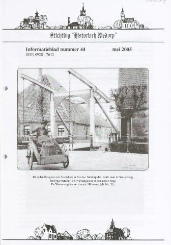 Informatieblad stichting Historisch Niedorp 2005-05-01