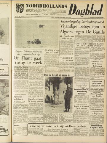 Noordhollands Dagblad : dagblad voor Alkmaar en omgeving 1962-01-25