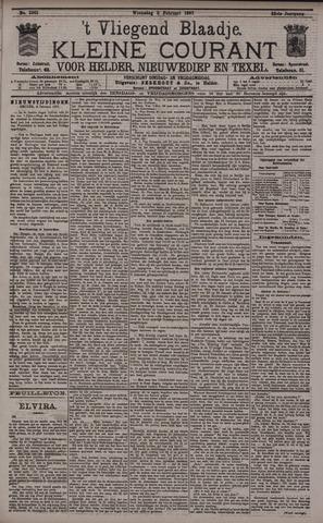 Vliegend blaadje : nieuws- en advertentiebode voor Den Helder 1897-02-03