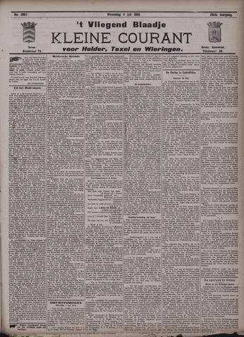 Vliegend blaadje : nieuws- en advertentiebode voor Den Helder 1900-07-04
