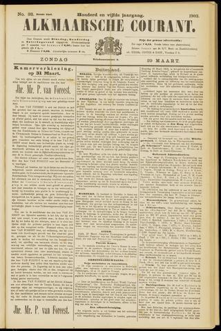 Alkmaarsche Courant 1903-03-29