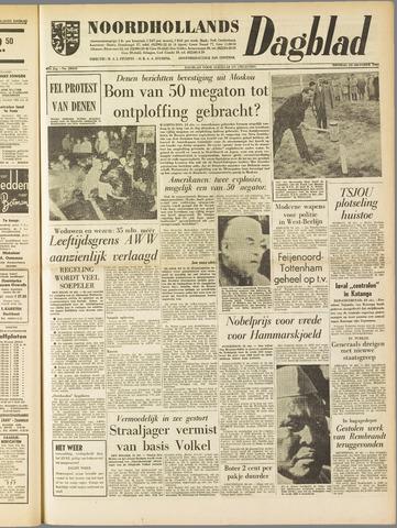 Noordhollands Dagblad : dagblad voor Alkmaar en omgeving 1961-10-24