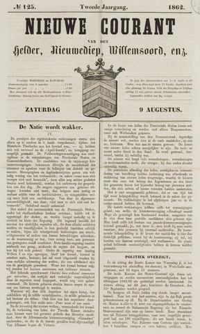 Nieuwe Courant van Den Helder 1862-08-09