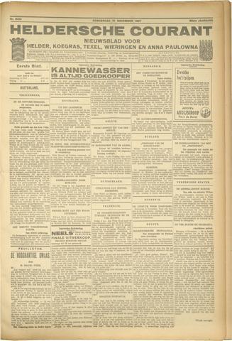 Heldersche Courant 1927-11-10