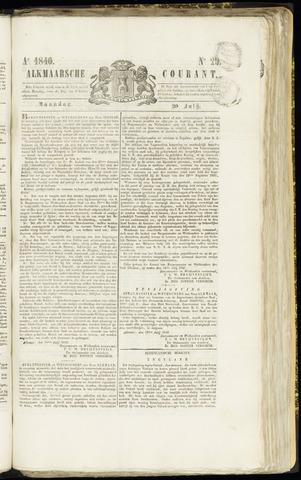 Alkmaarsche Courant 1840-07-20