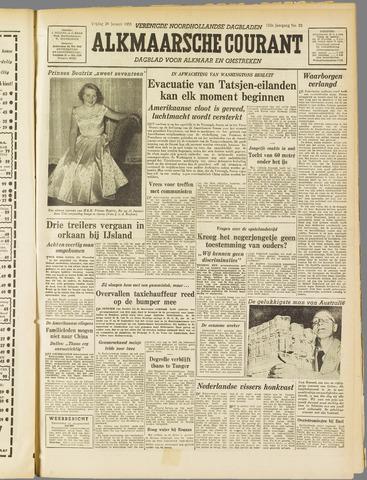 Alkmaarsche Courant 1955-01-28
