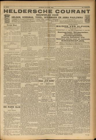 Heldersche Courant 1923-04-28