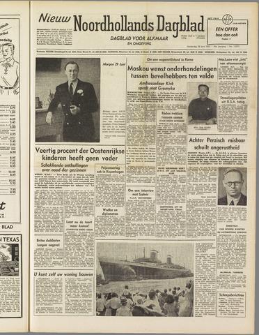 Nieuw Noordhollandsch Dagblad : voor Alkmaar en omgeving 1951-06-28