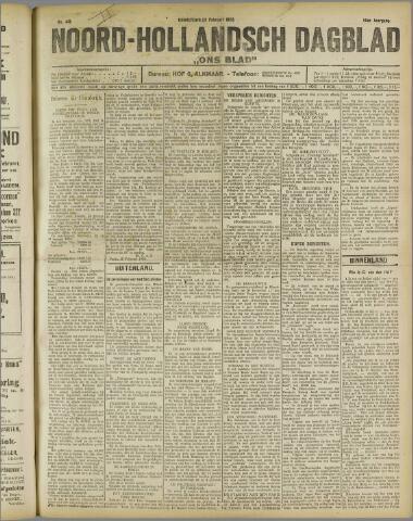 Ons Blad : katholiek nieuwsblad voor N-H 1922-02-23