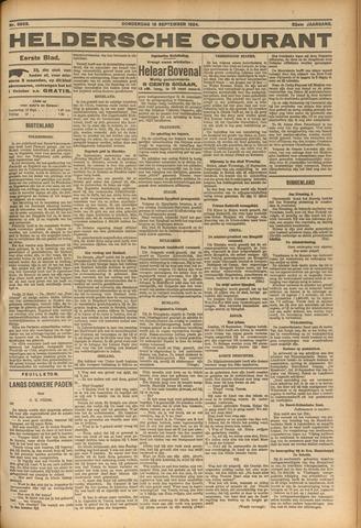 Heldersche Courant 1924-09-18