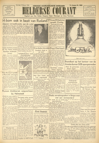Heldersche Courant 1950-02-04