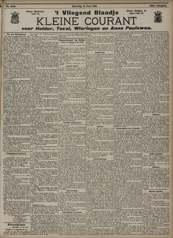 Vliegend blaadje : nieuws- en advertentiebode voor Den Helder 1906-06-16
