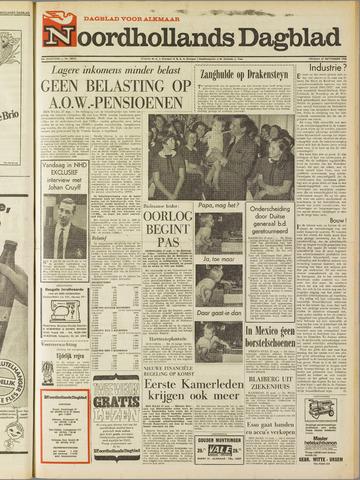 Noordhollands Dagblad : dagblad voor Alkmaar en omgeving 1968-09-27