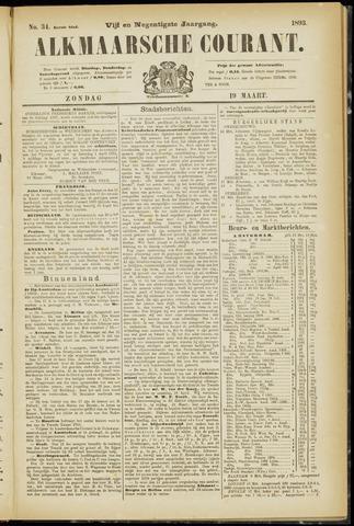 Alkmaarsche Courant 1893-03-19