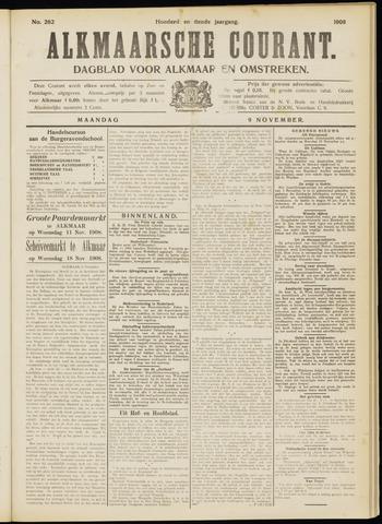 Alkmaarsche Courant 1908-11-09