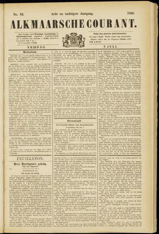 Alkmaarsche Courant 1886-07-09