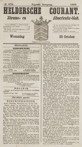 Heldersche Courant 1869-10-20