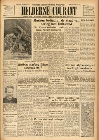 Heldersche Courant 1955-01-26