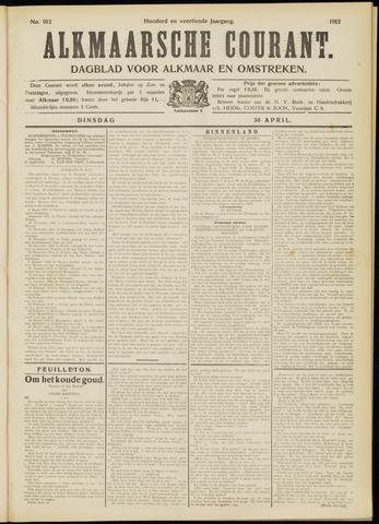 Alkmaarsche Courant 1912-04-30