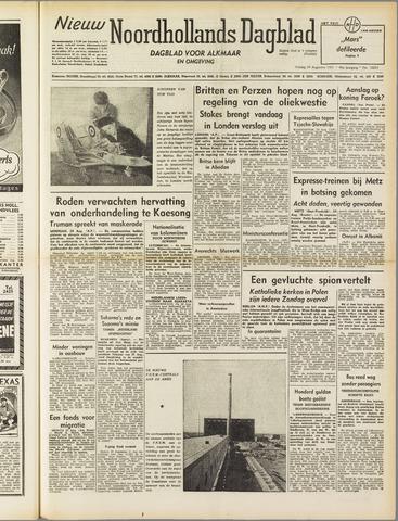 Nieuw Noordhollandsch Dagblad : voor Alkmaar en omgeving 1951-08-24