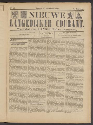 Nieuwe Langedijker Courant 1898-11-20