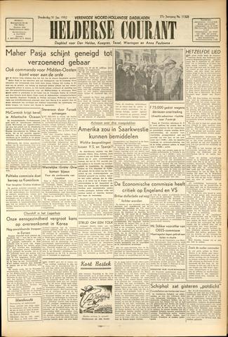Heldersche Courant 1952-01-31