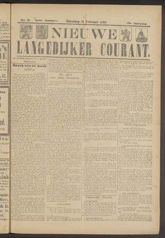Nieuwe Langedijker Courant 1920-02-21