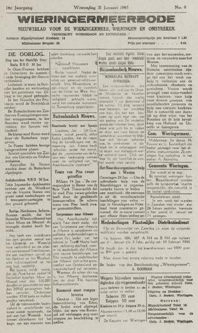 Wieringermeerbode 1945-01-31